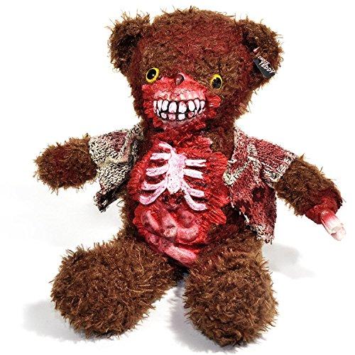 Zombie Teddy Original XXL 50cm die Halloween Teddybär Undead-Teds Evolution für alle Splatter & Horror Fans; mit Gedärmen