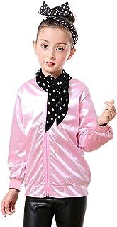 Dancing Stone 1950s Child Rhinestore Jacket Halloween Costume