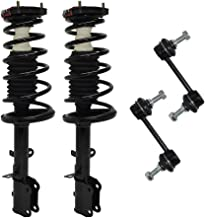 for 1993-2002 Toyota Corolla - Chevy/Geo Prizm - Both (2) REAR Driver & Passenger Side Complete Strut & Spring Assembly with (2) Sway Bar End Links - Excluding Wagon