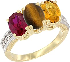 Best gold tiger ring with ruby eyes Reviews