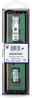 كينغستون رام دي دي 4 4 جيجا 2400 ميغاهيرتز لاجهزة الكمبيوتر - KVR24N17S6/4