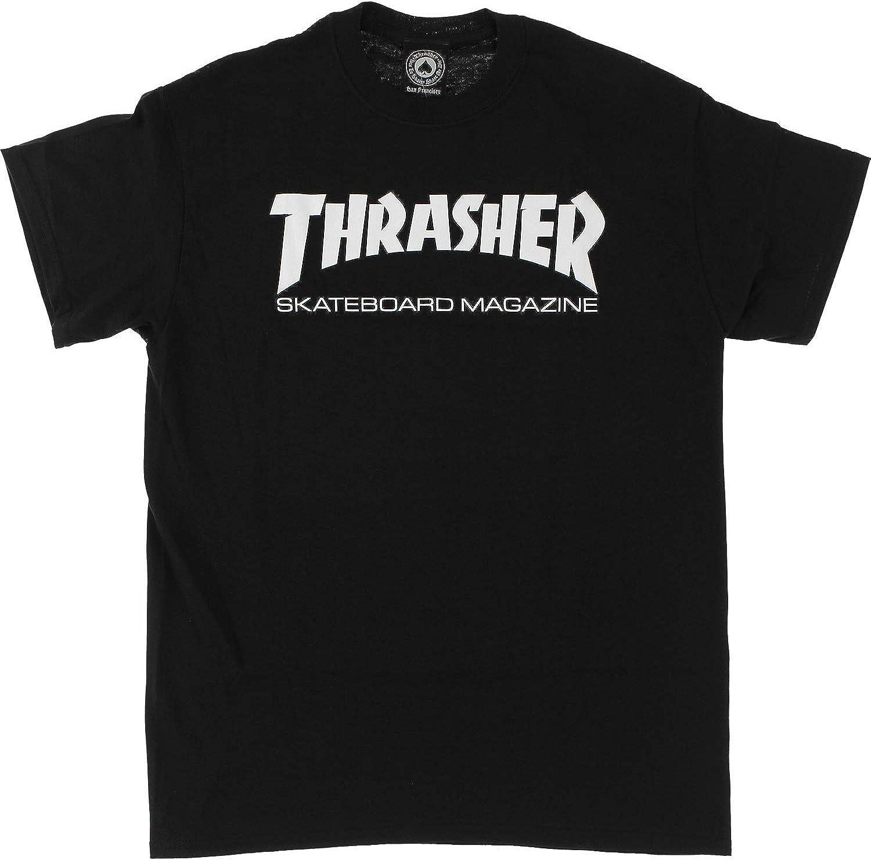 Thrasher Skate Mag Black Mens Short Sleeve T-Shirt