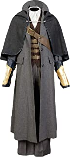 Men's Halloween Cosplay Costume Bloodborne Costume Whole Set Outfit