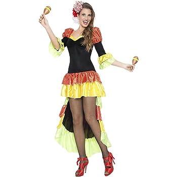 Limit Sport- Disfraz Cubana Liz, S (MA469): Amazon.es: Juguetes y ...
