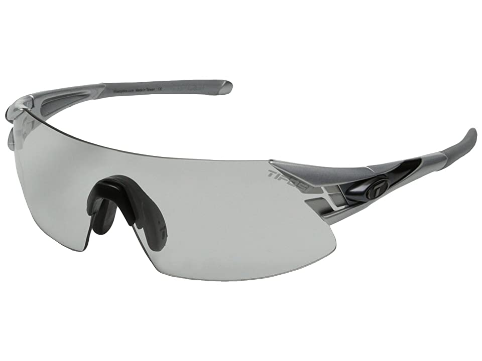 Tifosi Optics Podiumtm XC Fototec Light Night (Silver/Gunmetal) Athletic Performance Sport Sunglasses