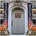 SUNBABY Halloween Porch Door Hanging Banner