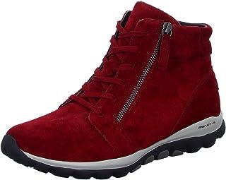 Gabor Rollingsoft 56.868.38 - Botas grandes para mujer, color rojo