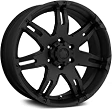 Ultra Wheel 238B Gauntlet Black Wheel with Painted (20 x 9. inches /5 x 150 mm, 30 mm Offset)