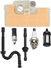 Hipa Air Filter + Spark Plug + Fuel/Oil Line Filter for STHIL 029 039 MS290 MS310 MS390 Chainsaw