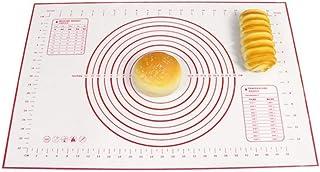 JIAYAN Tapis de Cuisson en Silicone Feuille de pâte à Pizza Support de Fabricant antiadhésif Pâtisserie Gadgets de Cuisine...
