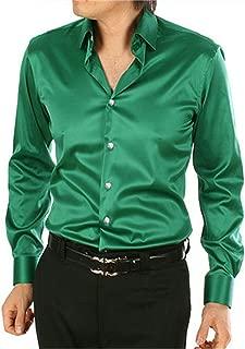Best green silk shirt Reviews
