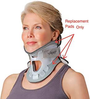 Replacement Pads - Aspen Cervical Collar Neck Brace; Same Design and Thickness as The Pads on Aspen Collar When Made, Hypoallergenic, One-Size