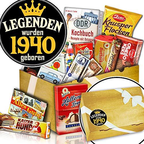 Süßigkeiten Überraschungsbox - Geburtstagsgeschenke Männer - Legenden 1940
