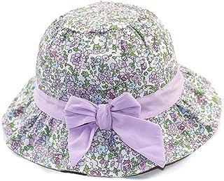 LYDIAMOON Sombrero para El Sol Sombrero De Algodón Transpirable Anti-UV Ajustable Fino Y Liviano para Girl Boy
