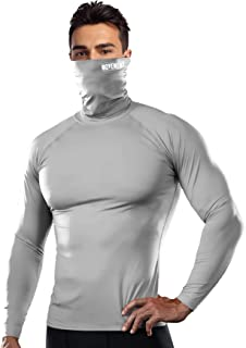 HOOLAZA T-Shirt Compression Homme Fitness T-Shirt dEntra/înement Fitness Chemise Fitness Homme