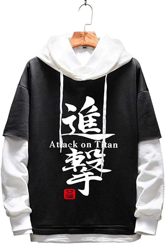Super special price Attack on Save money Titan Hoodie Anime Corps Sweatshirt Survey Cosp Unisex