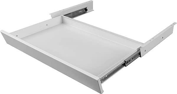 立式书桌商店滑动书桌下铅笔抽屉提供了一个方便的书桌下收纳组织者 21 5 W X 12 D 白色