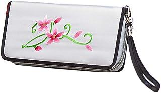 HangErFeng Women's Handbag Silk Hand Embroidered Chinese Wallet Gift Packaging H1059