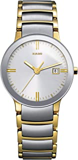 Rado Women's Two Tone Stainless Silver Dial Watch - R30932103