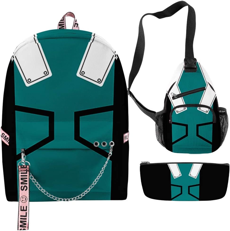 My Hero Academia Kid Backpack teens stude It Cheap mail order shopping is very popular Schoolbag for Suitable