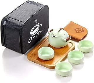 OMyTea 100% Handmade Chinese / Japanese Vintage Kungfu Gongfu Tea Set – Porcelain..
