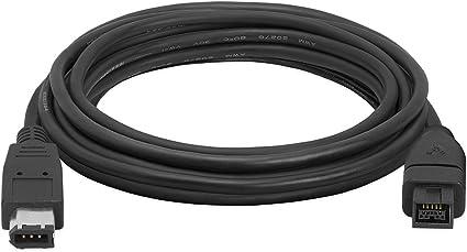 Longitud Luoshan Firewire IEEE 1394 Cable de 4 Pines Macho a 4 Pines Macho 1,8 m