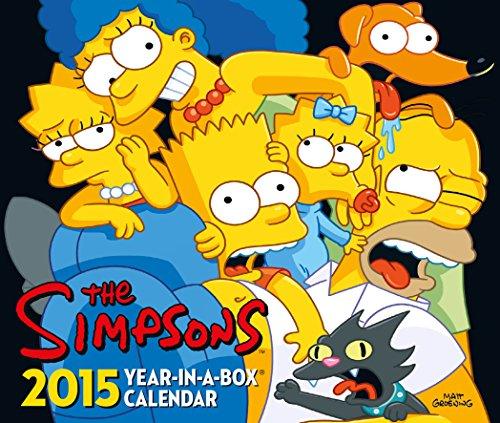 Official the Simpsons Desk Block Calendar 2015