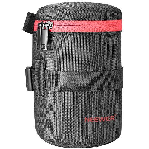Neewer Objektivtasche aus strapazierfähigem Nylon für 18-300 mm, wie Canon 100 mm, 70-300 lS 75-300 & Nikon 55-300 28-300 105VR 70-300