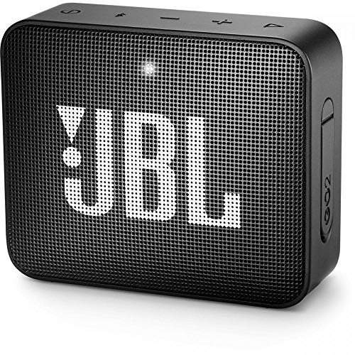 JBL GO2 Portable Bluetooth Speaker with Rechargeable Battery, Waterproof,...