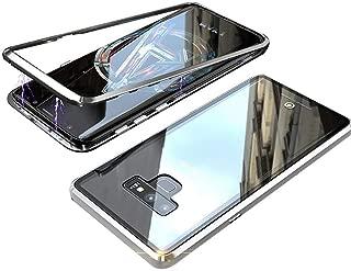 For Samsung Galaxy Note 9 Kılıf Mıknatıslı 360 Derece Koruma Metal Çerçeveli (LLAWSDF)
