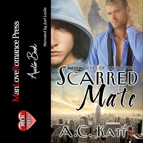 Scarred Mate audiobook cover art