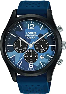 Lorus Sport Man Mens Analog Quartz Watch with Silicone Bracelet RT301JX9
