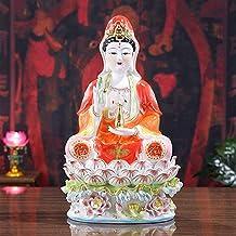 PPCP Ceramics Nanhai Guanyin Bodhisattva Like Home Office Decoration Buddha Sculpture Spiritual Gifts Small Home Decoratio...