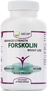 100% Pure Forskolin Extract with 2X More Potency. 30-Diet & Belly Buster Supplement Pills. Weight Loss Enhancer, Metabolism Booster, Carb Blocker, Appetite Suppressant & Fat Burner for Women and Men.