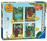 Ravensburger The Gruffalo Jigsaw Puzzle, Confezione da 4