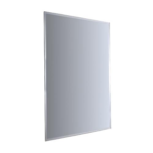 ENKI 500 x 700 mm Miroir mural biseauté rectangulaire sans cadre HORIZON