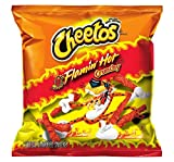 Cheetos Cheese Snacks, Crunchy Hot, 2-Ounce Large...