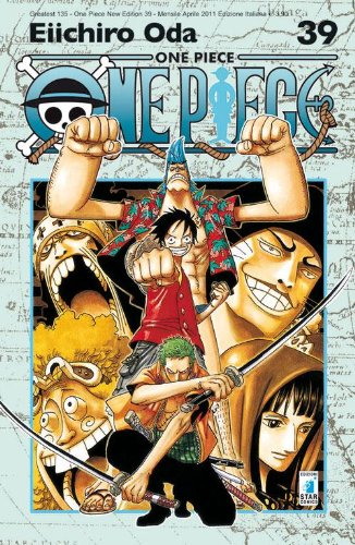 One piece. New edition: 39