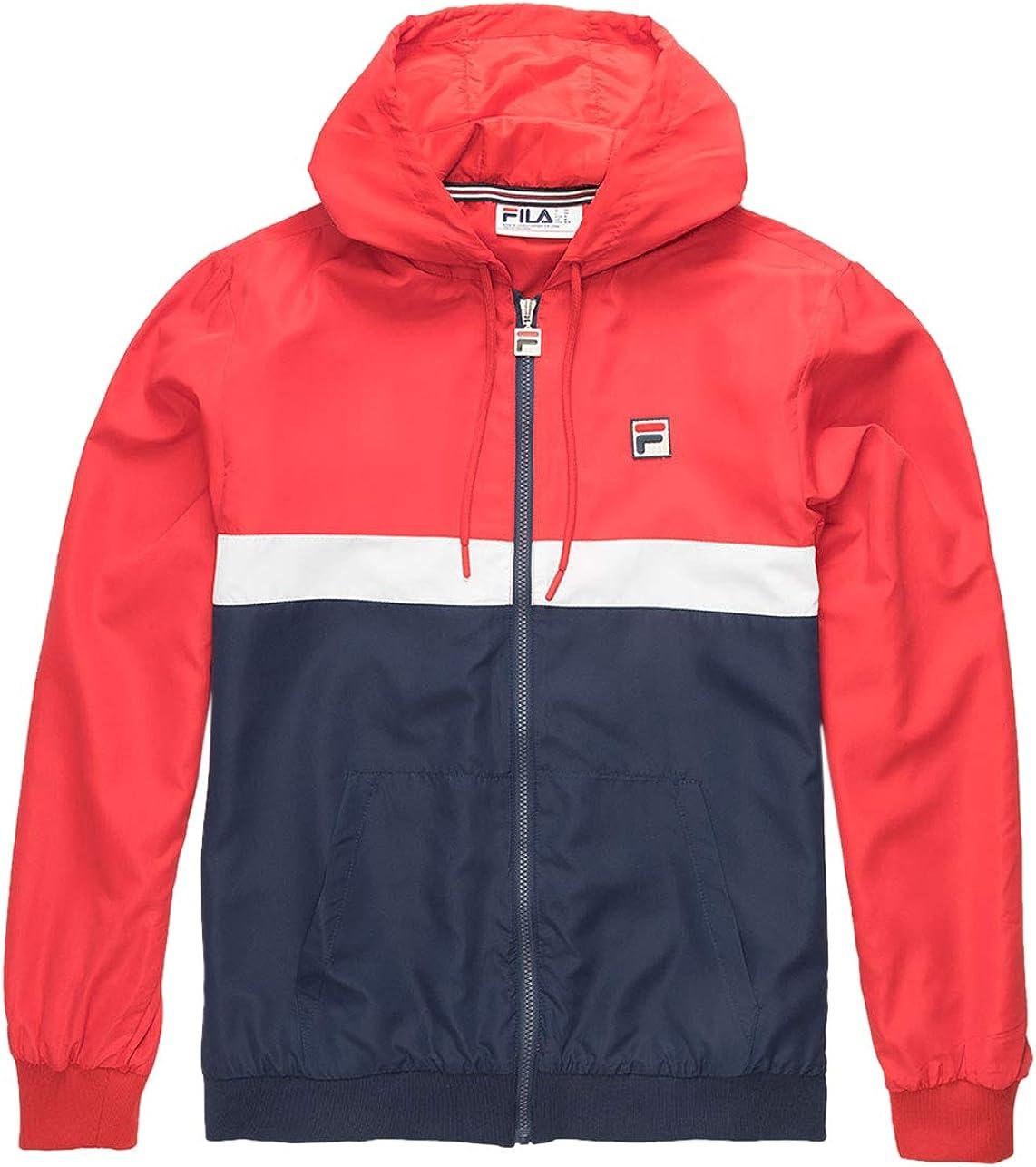 Fila 特価キャンペーン Men's Ambrose Hooded Jacket 期間限定の激安セール Wind