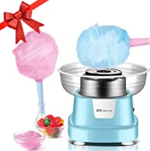 Cotton Candy Maker, Cotton Candy Machine for Home Birthday Family Party Christmas Gift - Includes 10 Cones And Sugar Scoop...