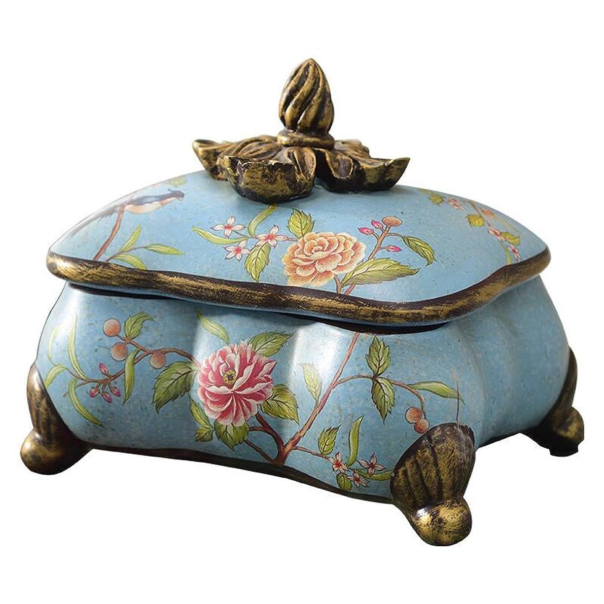 アプライアンス大学院散文GWM ヨーロッパのレトロ創造的な工芸品ホーム陶器の装飾装飾ジュエリー収納ボックス