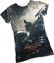 The Night -- Batman Arkham Knight Front Print Sports Fabric Juniors T-Shirt