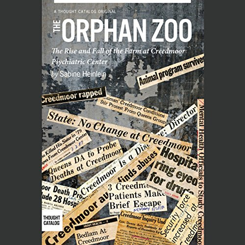 The Orphan Zoo audiobook cover art