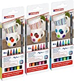 edding 4200 Porzellan-Pinselstiften (18er Komplett Set)