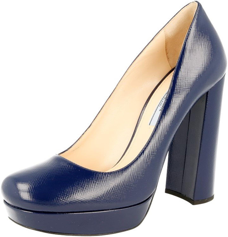Prada Women's 1IP288 Saffiano Leather Pumps Heels