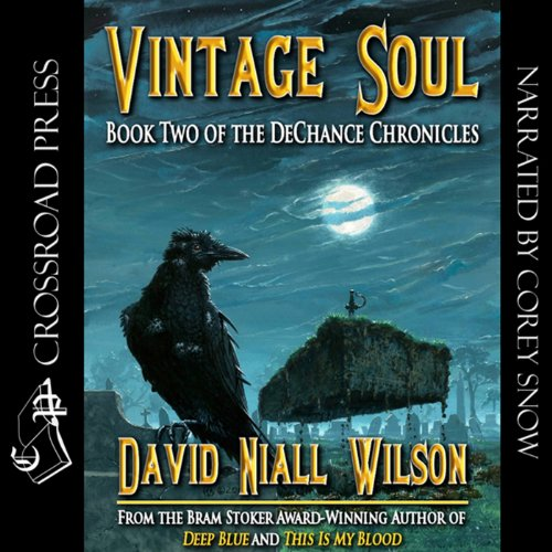 Vintage Soul: Book II of the DeChance Chronicles                   By:                                                                                                                                 David Niall Wilson                               Narrated by:                                                                                                                                 Corey M. Snow                      Length: 6 hrs and 44 mins     20 ratings     Overall 4.0