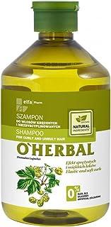 OHerbal Champú Cabello elo Rizado Y Rebelde Hidratante Natural Ecológico Sin Sulfatos Ni Siliconas con Extracto De Lúpulo...