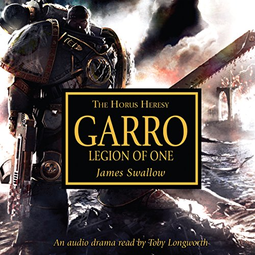 Garro: Legion of One audiobook cover art