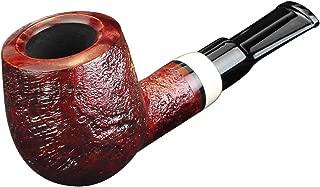 FULUSHOU Mediterranean Briar Wood Tobacco Pipe,Exquisite and Mini Tobacco Pipe,Dad Gift 2