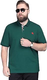 Golf Polo Shirts for Men - Golf Polo Shirts for Men - Mens Polo Shirt Short Sleeve Plus Size Polo T-Shirt Big Polo(4XL)